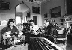 U2 recording with Brian Eno