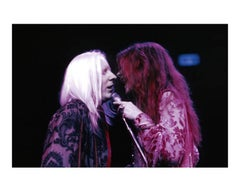 Janis Joplin and Johnny Winter