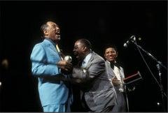 Duke Ellington, Louis Armstrong, Hal Jackson, 1970