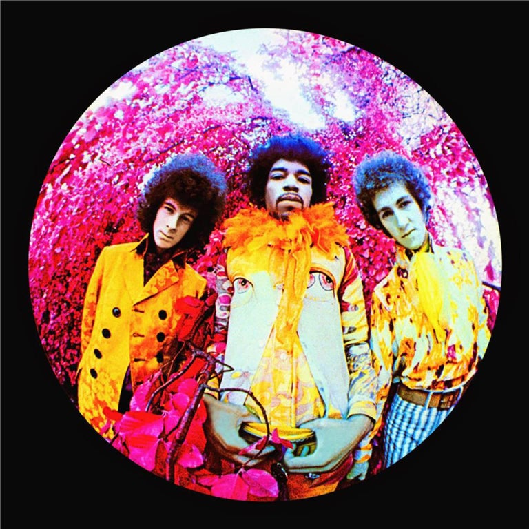 "Karl Ferris Abstract Photograph - The Jimi Hendrix Experience, ""Are You Experienced?"""