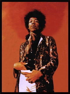 Jimi Hendrix Portrait, 1967