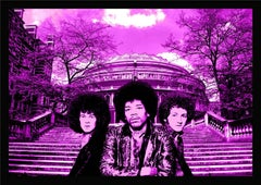 "The Jimi Hendrix Experience, ""Purple Haze"" Poster Portrait, London, 1967"