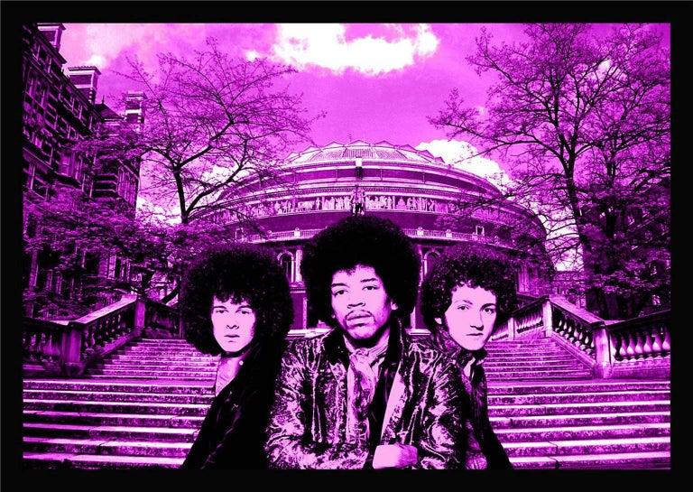 "Karl Ferris - The Jimi Hendrix Experience, ""Purple Haze"" Poster Portrait, London, 1967 1"
