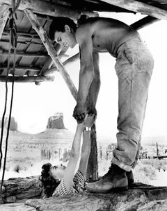 """Natalie Wood & Patrick Wayne, """"The Searchers,"""" Monument Valley, 1955"""