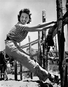 """Natalie Wood, """"The Searchers,"""" Monument Valley, 1955"""