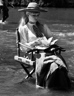 """Brigitte Bardot on set of """"Viva Maria,"""" 1964"""