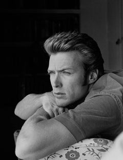 Clint Eastwood, at home, North Hollywood, California, 1958