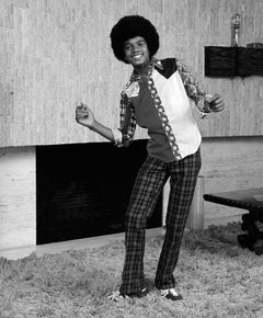 Michael Jackson, at home, 1974