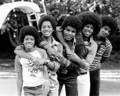The Jackson 5, at home II, Encino, California, 1974
