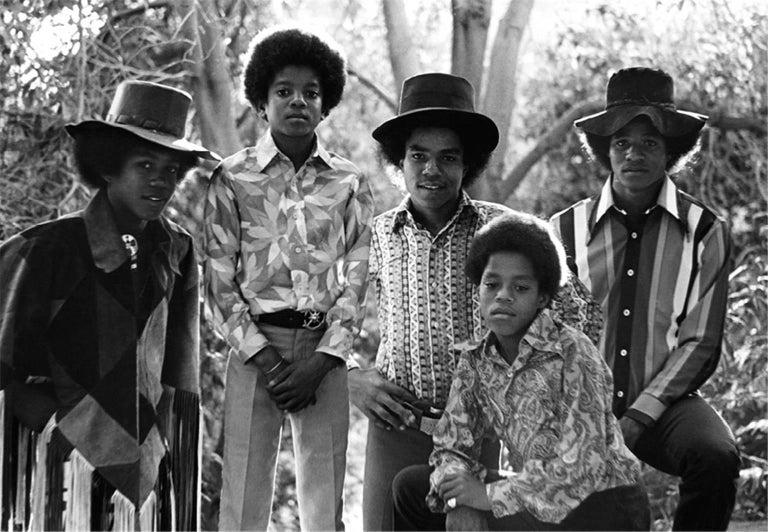 The Jackson 5, at home, Encino, California, 1974