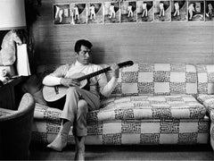 Dean Martin, at home, Beverly Hills, California, 1966