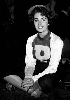 Elizabeth Taylor, Hollywood Stars Baseball Game, 1949