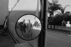 Graham Nash and Raymond Foye, Venice, CA 1990