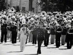 Meredith Willson leading Seventy-Six Trombones, 1958