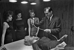 Hugh Hefner Testing Playboy, 1958