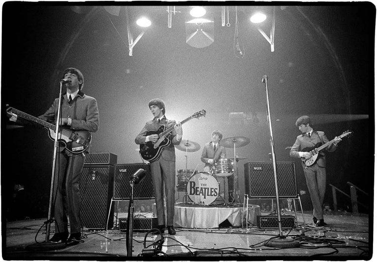 Rowland Scherman Black and White Photograph - Beatles, Washington, DC 1964
