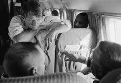 Bobby Kennedy on Private Plane