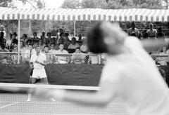 Arthur Ashe During Tennis Match