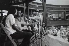 Bob Dylan and Joan Baez, Newport, RI, 1963