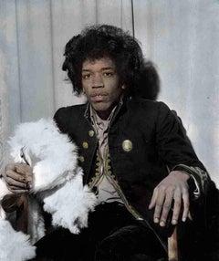 Jimi Hendrix, Darlington, England 1967