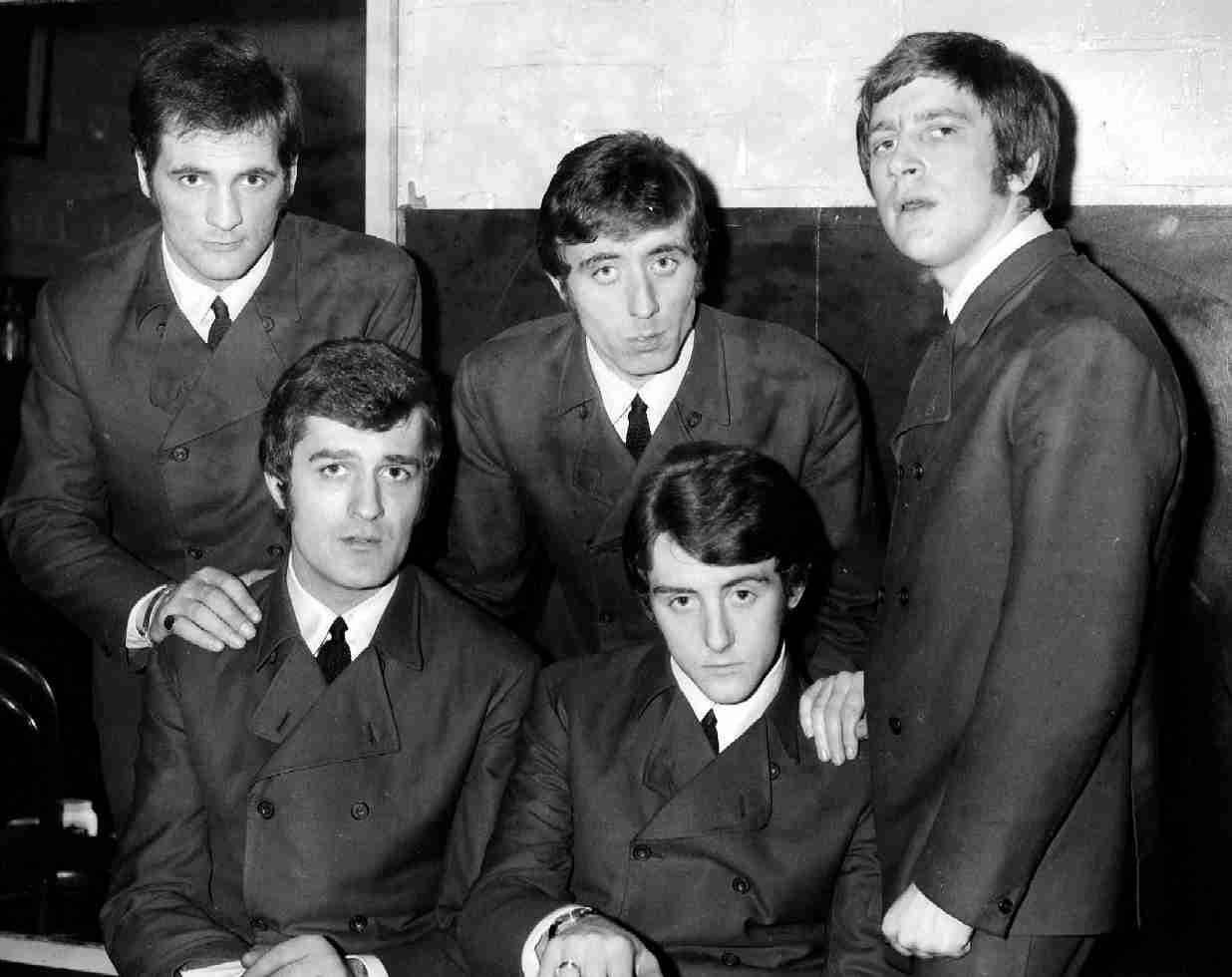 Moody Blues, Stockton on Tees, England 1965