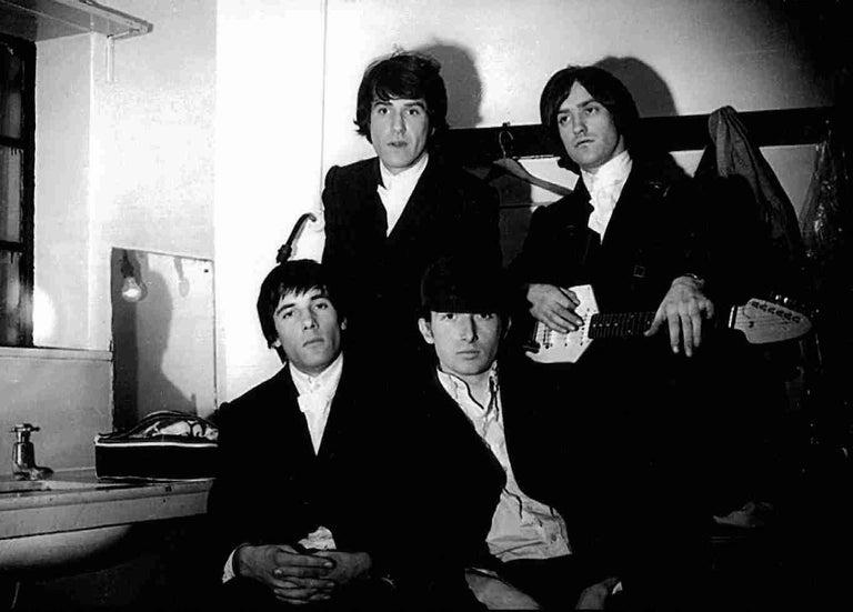Ian Wright Black and White Photograph - The Kinks, Stockton on Tees, England 1964
