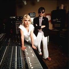 Debbie Harry and Chris Stein, Mediasound Studios, New York City, 1979