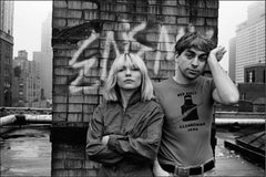 Debbie Harry and Chris Stein, New York City, 1980