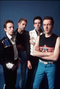 The Clash, Posing for SoHo Weekly News, NYC, 1976