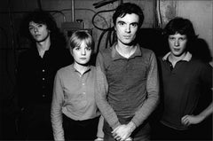 Talking Heads, Backstage, Manhattan, February, 1977
