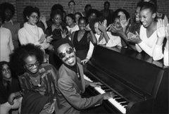 Stevie Wonder at the Dance Theater of Harlem, Manhattan, December, 1976