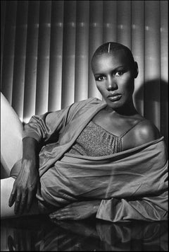 Grace Jones, Studio Pose, September, 1978