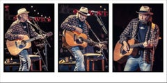 Neil Young, Triptych, Shoreline Amphitheater, Mountain View, CA, 2011