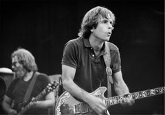 Jerry Garcia and Bob Weir, Grateful Dead, Frost Amphitheater, 1982