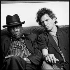 John Lee Hooker and Keith Richards, San Francisco, CA, 1991