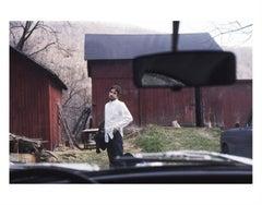 Bob Dylan, Looking Into Car, 1970