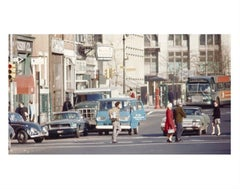 Bob Dylan, Crossing Houston, New York City, 1970