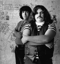 "Jerry Garcia and Ron ""Pigpen"" McKernan, San Francisco, CA 1967"