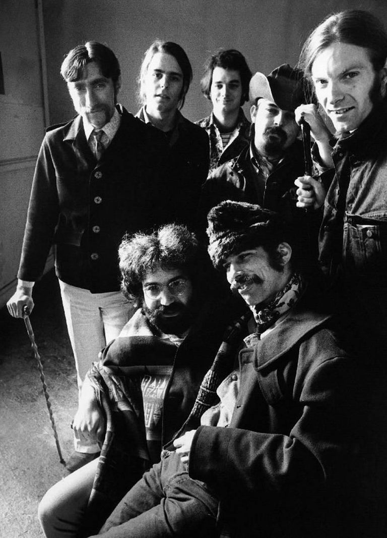 Herb Greene Black and White Photograph - Grateful Dead, San Francisco, CA 1969