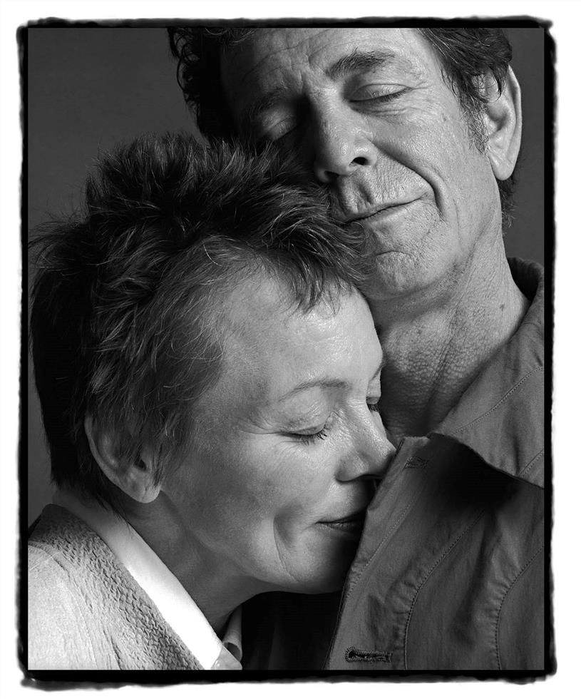 Laurie Anderson and Lou Reed, Turin, 2002