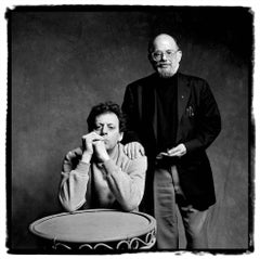 Philip Glass and Allen Ginsberg, Turin, 1992