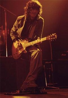 Jimmy Page, Led Zeppelin, Zurich, 1980