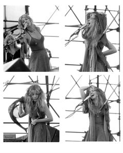 Stevie Nicks Contact Sheet, Fleetwood Mac at JFK Stadium, Philadelphia, 1978