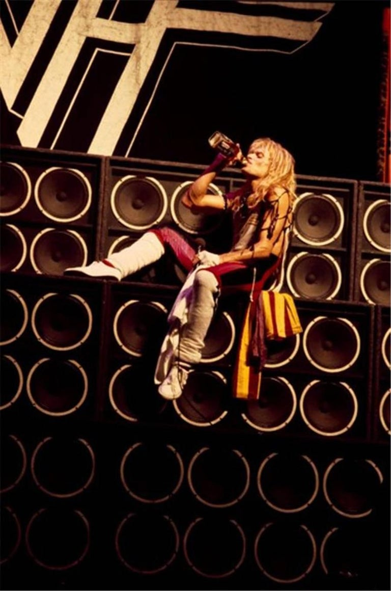 David Lee Roth, Van Halen, World Invasion Tour, 1980