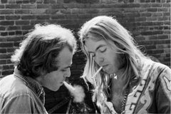 Thom Doucette and Gregg Allman, 1975