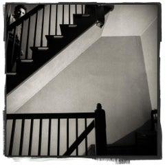 Bruce Springsteen in Stairway Brewster NY June 1982
