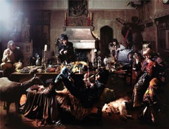 """Rolling Stones, """"The Banquet,"""" Sarum Chase, London, 1968"""