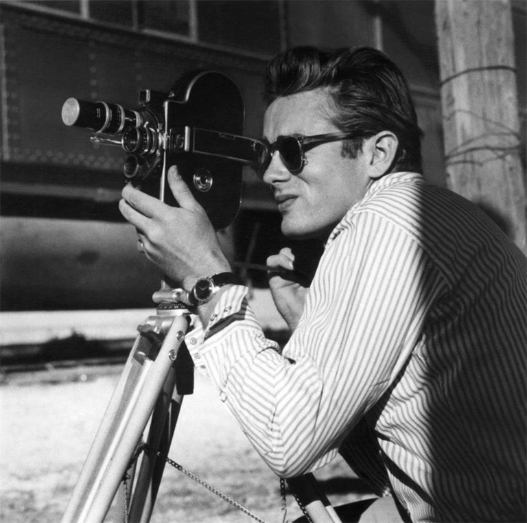 Sid Avery Black and White Photograph - James Dean, Marfa, TX, 1955