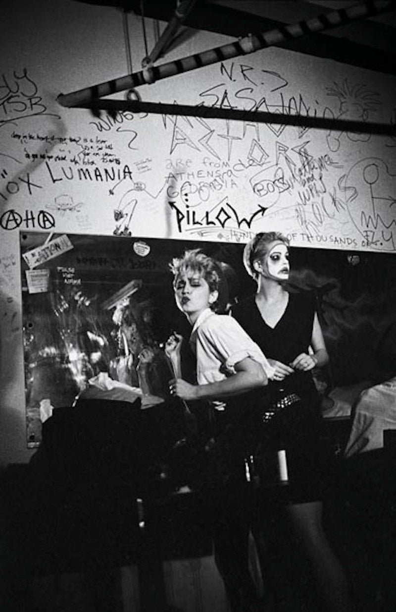 Josh Cheuse Black and White Photograph - Madonna