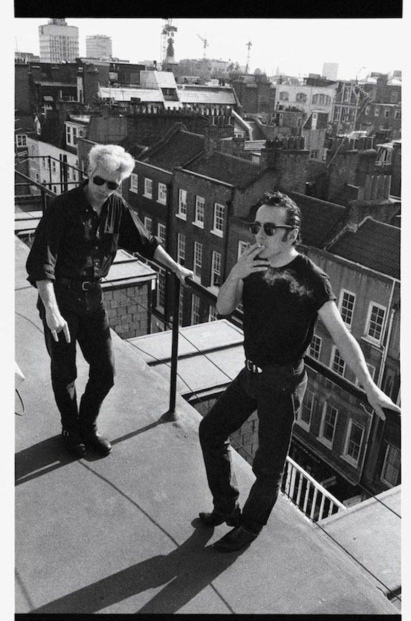 Joe Strummer and Jim Jarmusch, NYC
